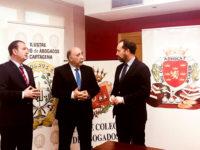 Los colegios de abogados de Cartagena, Lorca y Murcia se unen frente a la situación de impago del turno de oficio por parte del Ministerio de Justicia