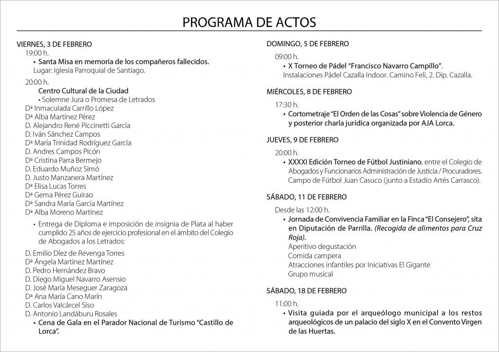 PROGRAMA S. RAIMUNDO II