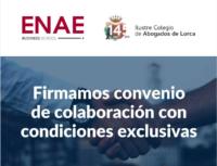 Firmamos convenio de colaboración con ENAE Business School